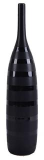 Scott Bottle Vase, Black, Tall