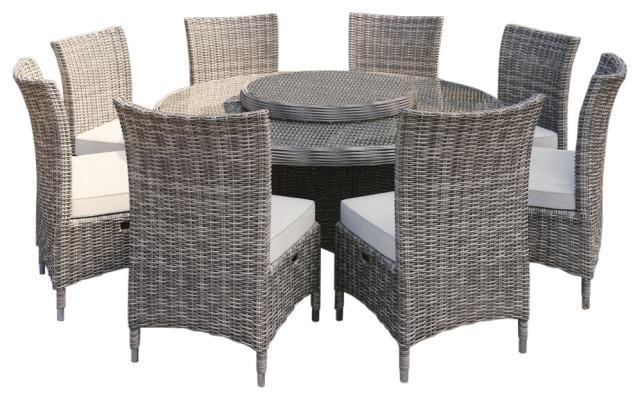 martha stewart highfield 9 piece patio dining set