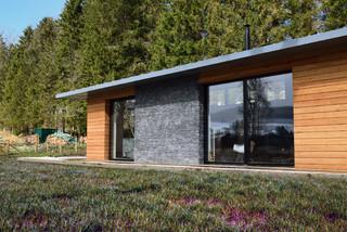 Strathdon House contemporary-exterior