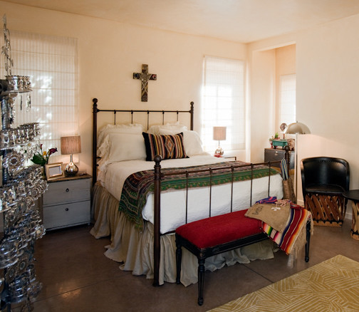 Santa Fe Style Guest Suite Interior Design By Jennifer Ashton Allied Asid Southwestern Bedroom Albuquerque By Jennifer Ashton Allied Asid