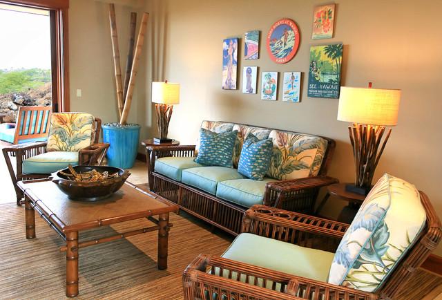 Kukio Resort Home Tropical Living Room Hawaii By