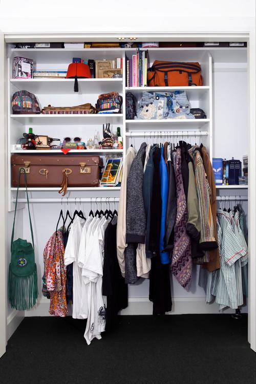 Diy Small Closet Storage