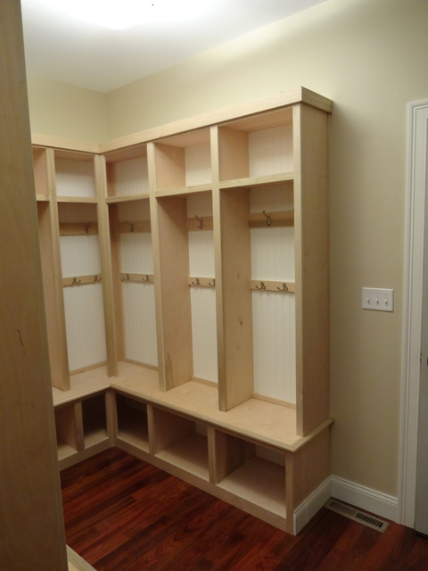 Mud Room Traditional Closet Boston By R E Price