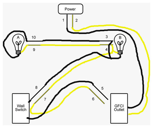 two lights one switch wiring diagram uk wiring diagram wiring two lights to one switch diagram the