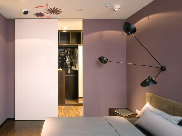 Apartment S modern-schlafzimmer