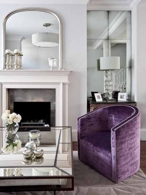 #fire #energy #mirrors #purple