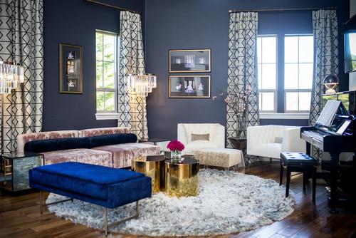 Contemporary Living Room By Placerville Kitchen U0026 Bath Designers Molly Erin  Designs, Certified Interior Designer