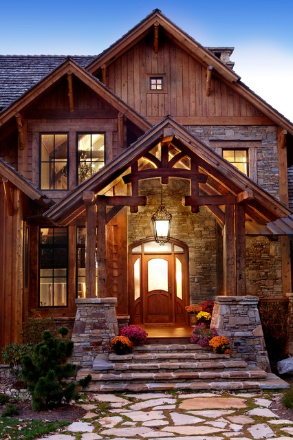Whiteside Lodge Rustic Exterior Other By Mosscreek