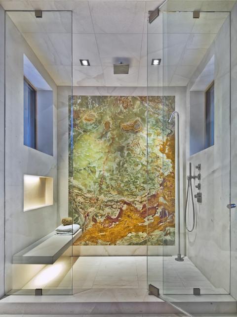 Contemporary Shower contemporary-bathroom
