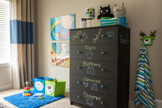 contemporary - 17+ Seriously Clever Ways to Use Chalkboard to Organize Your Home