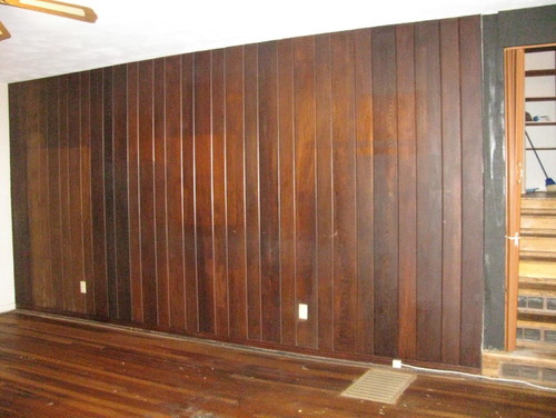Excellent Ideas For Wood Paneling Home Interior Decoration Elegant Brown Walnut Wall In
