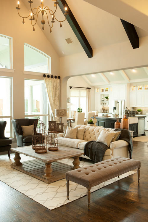 Thrift This Look U2013 Traditional Casual Living Room