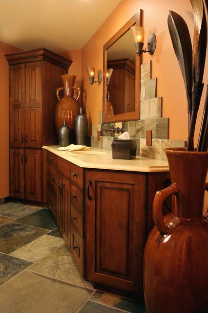 Tuscan Style Bath Mediterranean Bathroom Portland