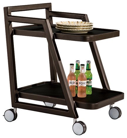 outdoor food and drink trolley