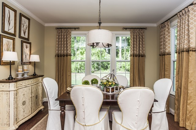 Powell Place Traditional Dining Room Raleigh By Robuck Homes
