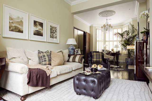 Chelsea Townhouse traditional-living-room