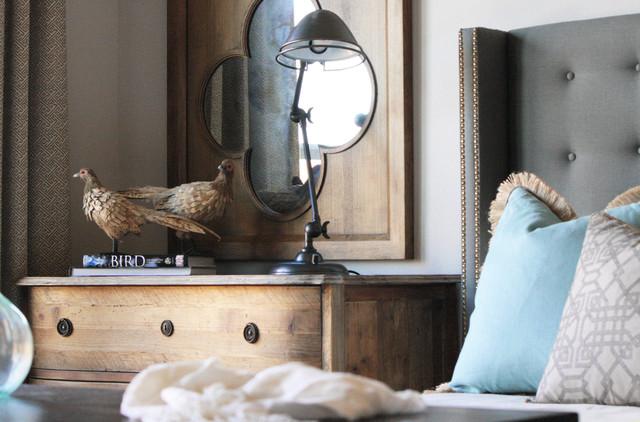 Blue Bedroom rustic-bedroom