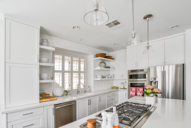 Amber Hills Redesign - Kitchen transitional-kitchen