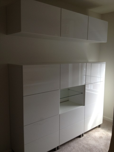 Trenton IKEA Besta Installation Modern New York By