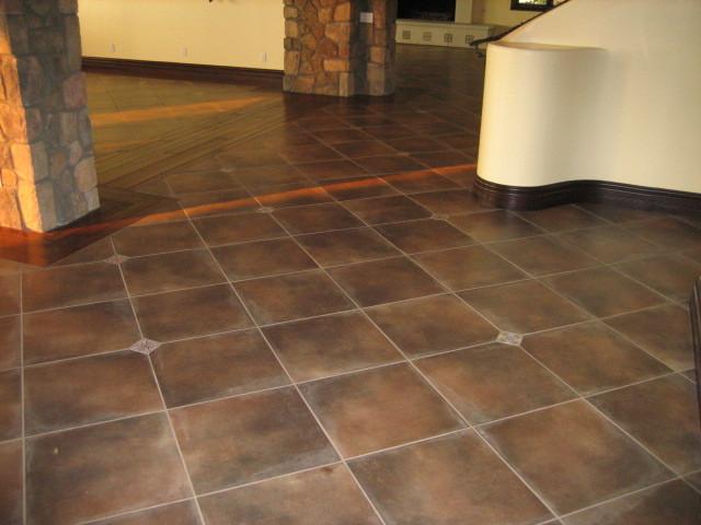 Garret Home Remodel With Spanish Ceramic Tile
