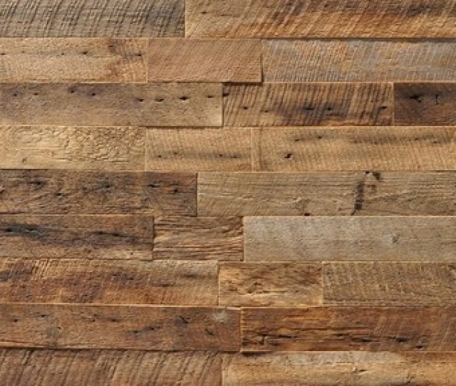 Reclaimed Wood Wall Paneling Brown   Sq Ft