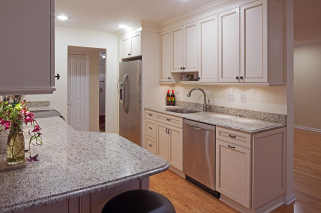 White Galley Kitchen Pictures