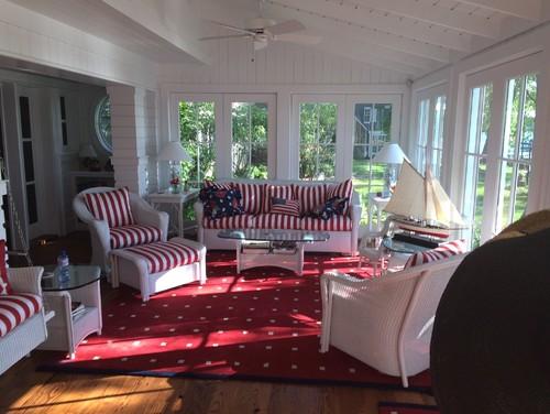 Patriotic Room Designs and Decor