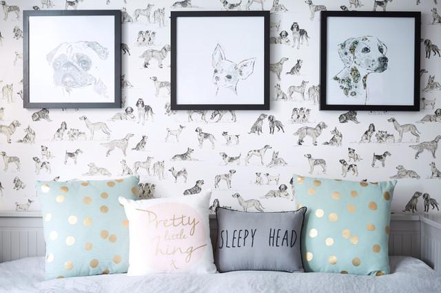 Izzy's Tween Bedroom, Chiswick contemporary-kids