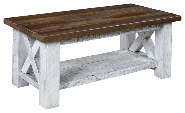 ferguson reclaimed barnwood coffee table