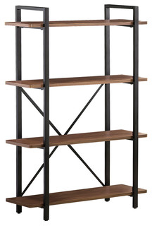 Industrial Style Bookcase With 4 Shelves by Coaster 800336