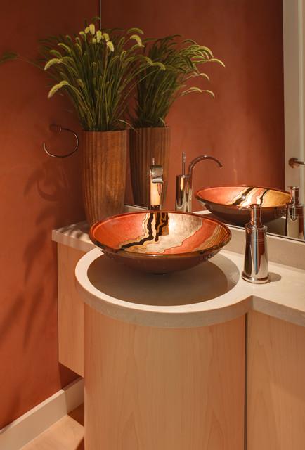 Bathroom Ideas Contemporary Powder Room San