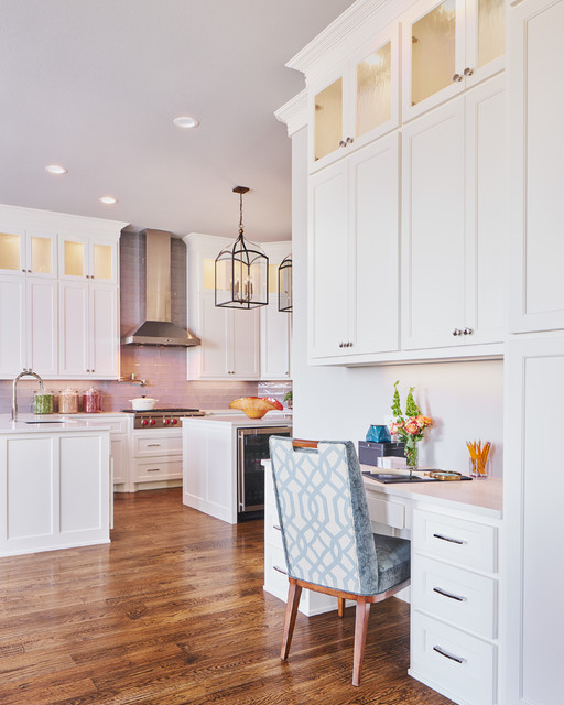 Golf Course Revival: Kitchen traditional-home-office