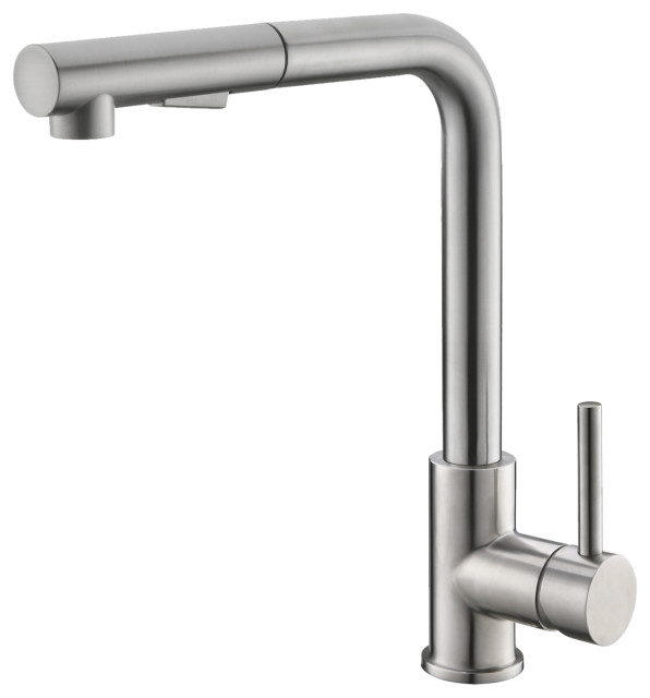 stylish pull down stainless steel kitchen faucet k 130s
