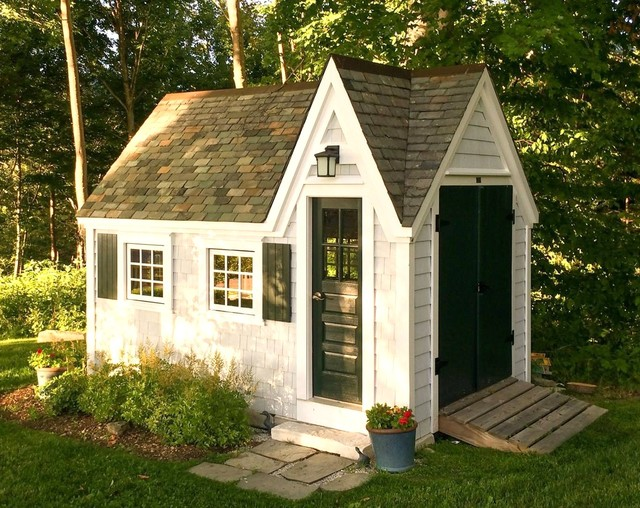Tiny House Storage ShedStudio Victorian Shed Boston By Jamaica Cottage Shop Inc