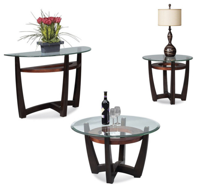 Circle Coffee Table Set