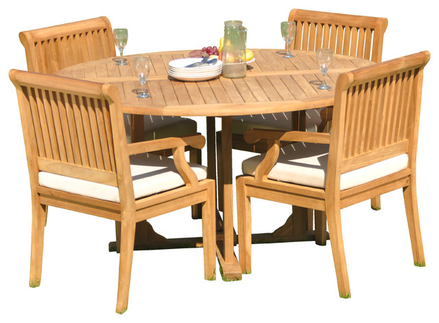 36 round outdoor dining table for 4