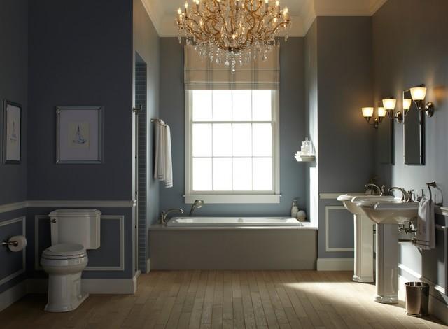 Nautical Grey White Bathrooms
