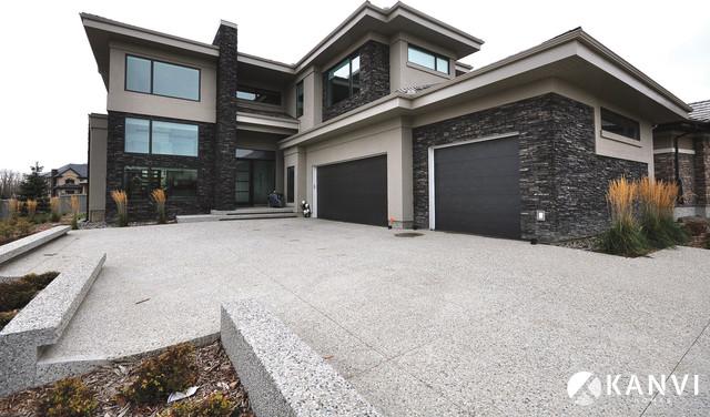 Custom Houses Contemporary Exterior Edmonton By