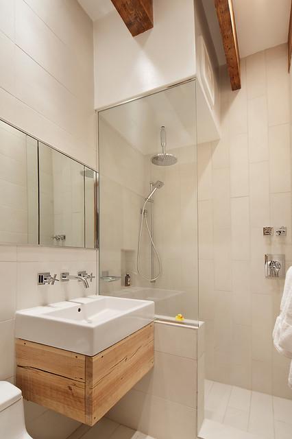 Crane Residence NYC industriale-stanza-da-bagno