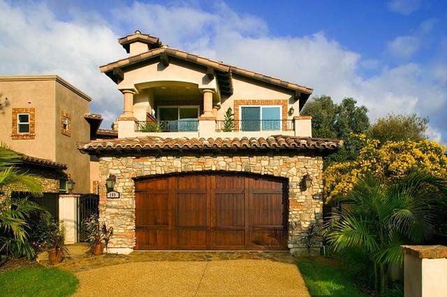 Encinitas Tuscan Style Home 3 Mediterranean Exterior
