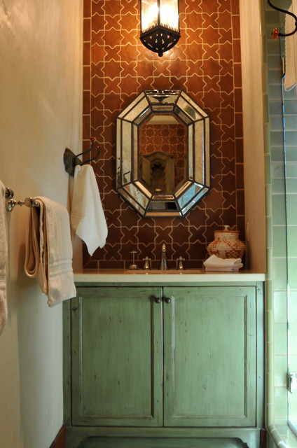 Spanish Style Home Traditional Bathroom San