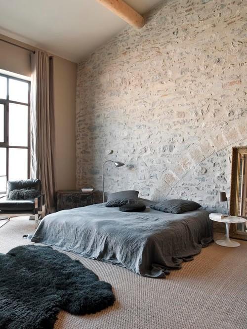Sol d'une chambre en moquette