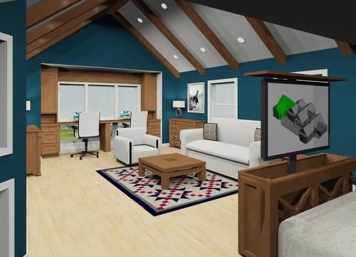 Convert Garage Into Master Bedroom Suite Plans