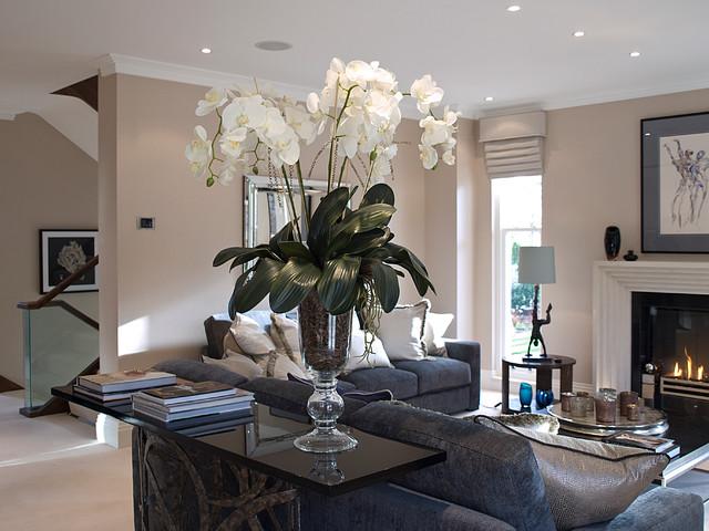 Living Room Artificial Flowers