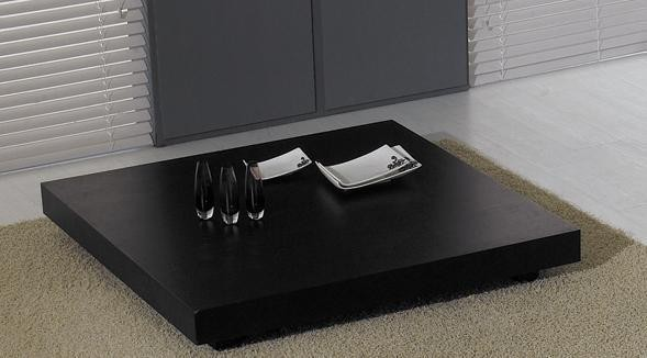 MODERN LOW PROFILE SQUARE WENGE COFFEE TABLE TORONTO Contemporary Coffee Tables San