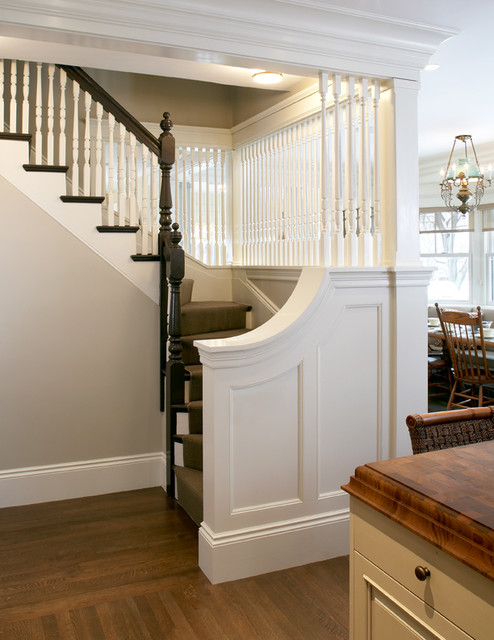 This Old House Stair Traditional Hall Boston By