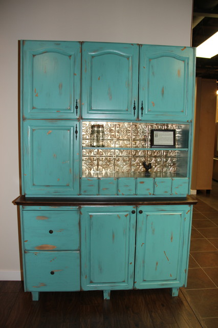Hoosier Cabinet Reproduction Farmhouse Kitchen Edmonton By Delton Cabinets