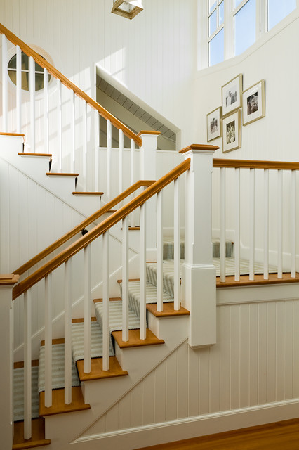 Stair Beach Style Staircase Portland Maine By
