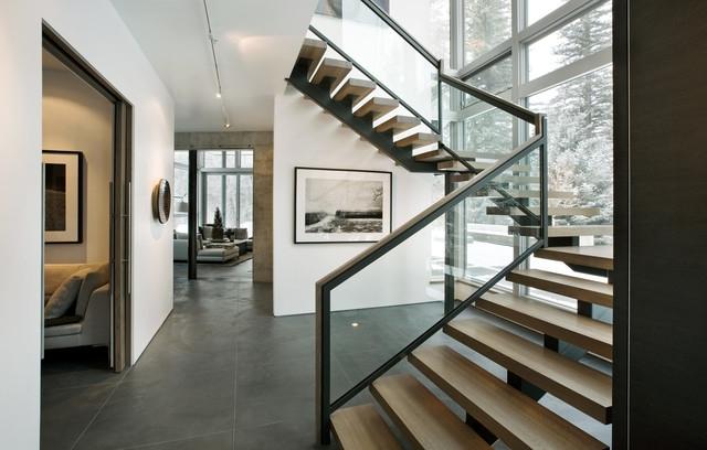 How To Update Your Stairs And Railings | Indoor Stair Railings Modern | Contemporary | Farmhouse | Rail | Glass | Aircraft Cable