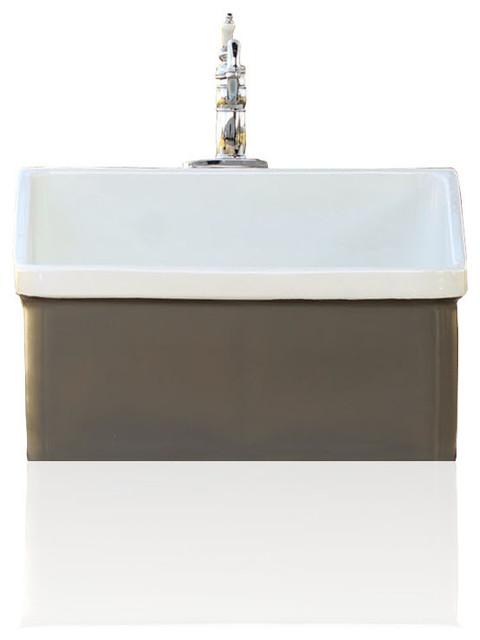 Kohler Grey Brown Vintage Style Kohler Hollister Farm Sink